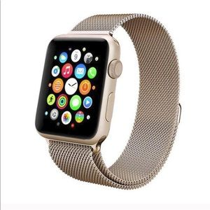 Accessories - BUNDLE 2/25 Milanese Gold band for Apple watch